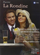 ANGELA GHEORGHIU - PUCCINI: LA RONDINE LIVE FROM THE MET DVD