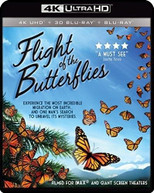 IMAX: FLIGHT OF THE BUTTERFLIES 4K BLURAY