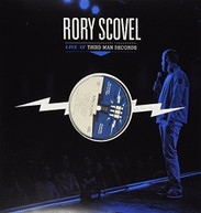 RORY SCOVEL - LIVE AT THIRD MAN RECORDS VINYL