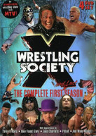 WRESTLING SOCIETY X: COMPLETE FIRST SEASON (4PC) DVD