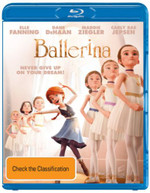 BALLERINA (BLU-RAY/UV) (IN CINEMA'S NOW - PRE ORDER TODAY) (2017) BLURAY