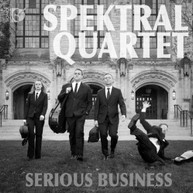 LOCHHEAD /  HAYDN / MACKLAY / SPEKTRAL QUARTET - SERIOUS BUSINESS BLURAY