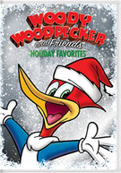 WOODY WOODPECKER & FRIENDS HOLIDAY FAVORITES DVD.