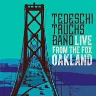 TEDESCHI TRUCKS BAND - LIVE FROM THE FOX OAKLAND (+DVD) CD