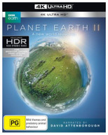 PLANET EARTH II  (4K BLU-RAY) BLURAY