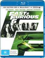 FAST AND FURIOUS 6  (4K UHD/BLU-RAY/UV) (2013) BLURAY