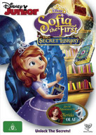 SOFIA THE FIRST: THE SECRET LIBRARY (2015) DVD