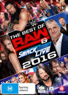 WWE: BEST OF RAW AND SMACKDOWN 2016 (2016) DVD