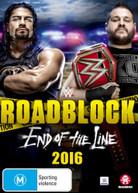 WWE: ROADBLOCK 2016 (2016) DVD