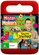MISTER MAKER'S ARTY PARTY: YOU'RE INVITED (2015) DVD