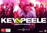 KEY & PEELE: COMPLETE SEASONS 1 - 3 (2012) DVD