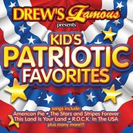 DREW'S FAMOUS - KIDS PATRIOTIC FAVORITES CD