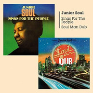 JUNIOR SOUL - SOUL MAN DUB & SINGS FOR THE PEOPLE CD