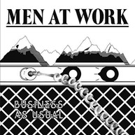 MEN AT WORK - BUSINESS AS USUAL VINYL
