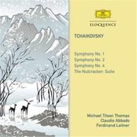 MICHAEL TILSON THOMAS, CLAUDIO ABBADO, FERDINAND LEITNER - TCHAIKOVSKY: SYMPHONIES NOS. 1, 2, 4 (2CD) CD