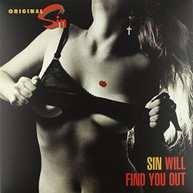 ORIGINAL SIN - SIN WILL FIND YOU OUT VINYL