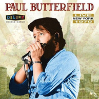 PAUL BUTTERFIELD - LIVE IN NEW YORK 1970 VINYL