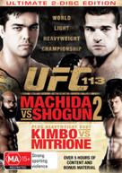 UFC: 113 - MACHIDA VS SHOGUN 2 (2010) DVD