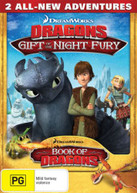 DRAGONS: GIFT OF THE NIGHT FURY / BOOK OF DRAGONS (FROM THE CREATORS OF HOW TO