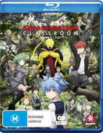ASSASSINATION CLASSROOM: SEASON 2 PART 1 (EPISODES 1-11) (2016) BLURAY