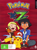 POKEMON THE SERIES: XYZ COMPLETE COLLECTION DVD