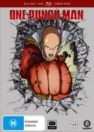 ONE PUNCH MAN: SEASON 1 (BLU-RAY/DVD) (2015) BLURAY