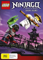 LEGO NINJAGO: MASTERS OF SPINJITZU - SEASON 6 - VOLUME 1 (2016) DVD