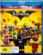 THE LEGO BATMAN MOVIE (2016) BLURAY