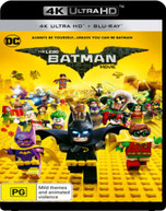THE LEGO BATMAN MOVIE  (4K UHD/BLURAY/UV) (2016) BLURAY