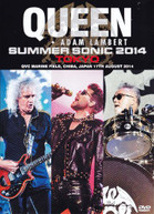 QUEEN / ADAM  LAMBERT - LIVE IN JAPAN SUMMER SONIC 2014 (2BD) BLURAY