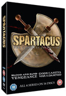 SPARTACUS COMPLETE COLLECTION (UK) BLU-RAY