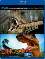 IMAX DINOS DOUBLE FEATURE (UK) BLU-RAY