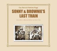 GUY DAVIS / FABRIZIO  POGGI - SONNY & BROWNIE'S LAST TRAIN VINYL