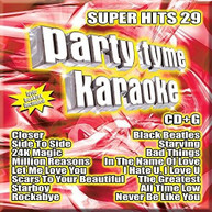 PARTY TYME KARAOKE: SUPER HITS 29 / VARIOUS CD