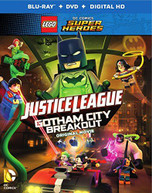 LEGO DC COMICS SUPER HEROES JUSTICE LEAGUE (2PC) BLURAY
