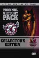 2008 NRL PREMIERS VICTORY PACK (2007) DVD
