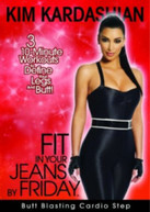 FIT IN YOUR JEANS BY FRIDAY: BUTT BLASTING CARDIO STEP (2009) DVD