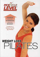 PICK YOUR LEVEL: WEIGHT LOSS PILATES DVD