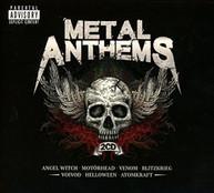 METAL ANTHEMS / VARIOUS CD
