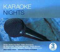 KARAOKE NIGHTS / VARIOUS CD