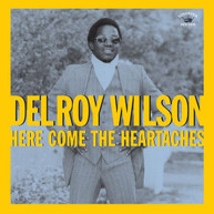 DELROY WILSON - HERE COMES THE HEARTACHES VINYL