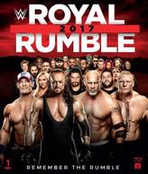 WWE: ROYAL RUMBLE 2017 BLURAY