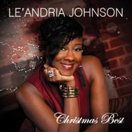 LE'ANDRIA JOHNSON - CHRISTMAS BEST CD