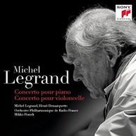MICHEL LEGRAND - CONCERTO POUR PIANO / CONCERTO POUR VIOLONCELLE CD