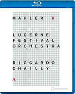 MAHLER /  CHAILLY / LUCERNE FESTIVAL ORCHESTRA - MAHLER: SYMPHONY NO BLURAY