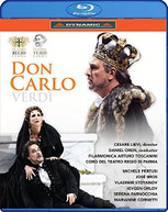 VERDI /  TOSCANINI / PERTUSI - DON CARLO BLURAY
