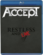 ACCEPT - RESTLESS & LIVE BLURAY