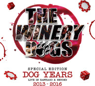 WINERY DOGS - DOG YEARS LIVE IN SANTIAGO &  BEYOND 2013 - DOG YEARS BLURAY