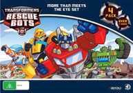 TRANSFORMERS RESCUE BOTS: MORE THAN MEETS THE EYE SET (4 PACK) (2011)  [DVD]