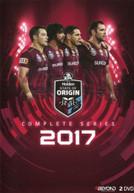 STATE OF ORIGIN: 2017 SERIES QUEENSLAND (2017)  [DVD]